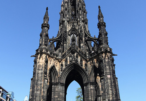 Scott Monument en Edimburgo